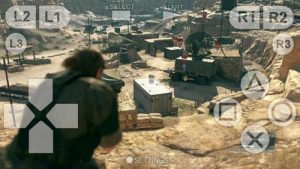 PS3 emulator MGS5